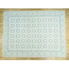 One-of-a-Kind Beauchemin Handwoven Ivory Wool Area Rug