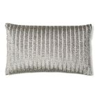 Corded Silk Lumbar Pillow