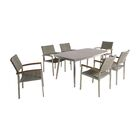 Bonifacio Outdoor 7 Piece Dining Set