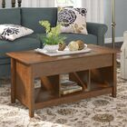 Lamantia Lift Top Coffee Table Color: Auburn Cherry