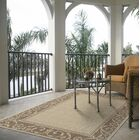 Saucedo Border Beige Indoor/Outdoor Use Area Rug Rug Size: Rectangle 8' x 10'