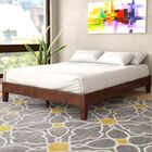 Hidalgo Solid Wood Platform Bed Size: Queen