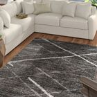 Mcphee Machine Woven Gray Area Rug Rug Size: Rectangle 10' x 14'