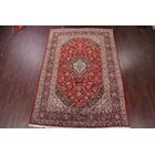 One-of-a-Kind Gall Traditional Floral Kashan Persian Hand-Knotted 8'3
