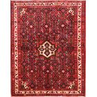 One-of-a-Kind Classical Floral Hamedan Persian Hand-Knotted 3'8