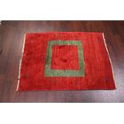 One-of-a-Kind Little Animals Tribal Gabbeh Shiraz Persian Hand-Knotted 3'4