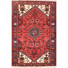One-of-a-Kind Geometric Tribal Foyer Hamedan Persian Hand-Knotted 2'7