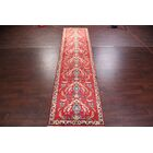 One-of-a-Kind Classical All Over Floral Tabriz Persian Hand-Knotted 3'7