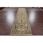 One-of-a-Kind Floral Hamedan Palace Vintage Persian Hand-Knotted 3'7
