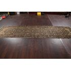 One-of-a-Kind Floral Hamedan Palace Vintage Persian Hand-Knotted 3'3