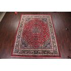 One-of-a-Kind Gehring Animal Pictorial Birds on Border Mashad Vintage Persian Hand-Knotted 9'7