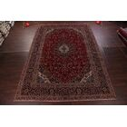 One-of-a-Kind Floral Kashmar Persian Hand-Knotted 11'4