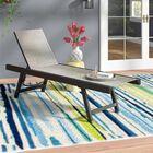 Scheffer Sun Chaise Lounge Fabric: Cocoa