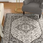 Allie Light Gray Area Rug Rug Size: Rectangle 9' x 12'