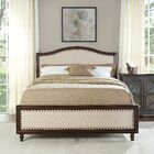 Lyell Upholstered Panel Bed Size: Queen