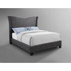 Castlebourne Upholstered Panel Bed Size: Queen