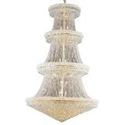 Jessenia 56-Light Crystal Chandelier Finish: Gold, Size: 66