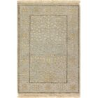 One-of-a-Kind Audio Indo Mamluk Hand-Knotted Wool Gray Area Rug