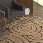Mckay Brown Area Rug Rug Size: Square 6'7