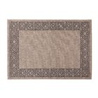 Selina Gray/Beige Indoor/Outdoor Area Rug Rug Size: Rectangle 8' x 10'