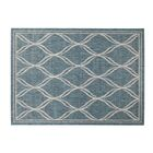 Selina Blue/Gray Indoor/Outdoor Area Rug Rug Size: Rectangle 8' x 10'