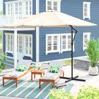 Jaelynn 9.5' Cantilever Umbrella Color: Sand