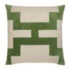 Catie Throw Pillow Color: Green