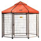 Indiana Pet Gazebo Canopy Yard Kennel Color: Desert Sunset, Size: 96