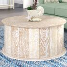 Caledonia Coffee Table Color: Sandblast White