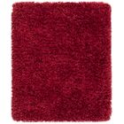 Tobiah Red Area Rug Rug Size: Round 6'7