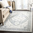 Trista Hand-Tufted Ivory Area Rug Rug Size: Rectangle 8' x 10'