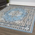 Lilly Blue/Gray Area Rug Rug Size: Rectangle 7'8