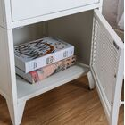 Mcwilliams 1 Drawer Nightstand Color: White