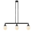 Jackeline 3-Light Kitchen Island Pendant Bulb Type: LED, Shade Color: Seedy, Finish: Oil Rubbed Bronze