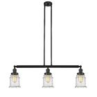 Greeley 3-Light Kitchen Island Pendant Shade Color: Clear, Bulb Type: LED, Finish: Oil Rubbed Bronze