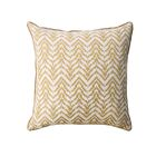 Darden Contemporary Throw Pillow Color: Gold