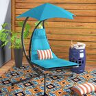 Maglione Hanging Chaise Lounger Color: True Turquoise