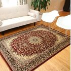 Medeiros Red/Brown Area Rug Rug Size: Rectangle 5'2