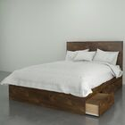 Parton Storage Platform Bed Size: Full, Color: Truffle
