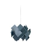 Escape 1-Light LED Geometric Pendant Features: GU24 Base, Shade Color: Blue