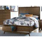 Bork Platform Bed Size: Eastern King, Color: Gray