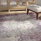 Dipasquale Champagne/Plum Area Rug Rug Size: Rectangle 6'6