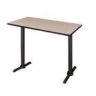 Vann Caf� Training Table Tabletop Finish: Mocha Walnut, Size: 42