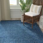 Dove Solid Hand-Woven Wool Navy Blue Area Rug Rectangle Rug Size: Rectangle 3'9