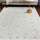 Arthurs Hand-Tufted Silver Area Rug Rug Size: Runner 2'6