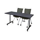 Marin Training Table Tabletop Finish: Gray, Size: 29