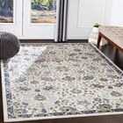 Macclesfield Floral Navy/Charcoal Area Rug Rug Size: Rectangle 5'3