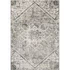 Oceanview Distressed Black/Gray Area Rug Rug Size: Rectangle 5'3