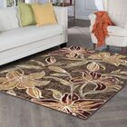 Higginson Lily Transitional Brown Area Rug Rug Size: Runner 2'3'' x 7'3''