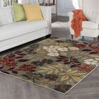 Highfill Transitional Seafom Area Rug Rug Size: Rectangle 5'3'' x 7'3''